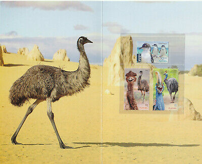 Australia 2019 : Flightless Birds, Stamp pack. Mint Condition