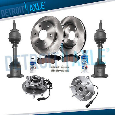 One New Front Hub Wheel Bearing Rotor For Ford F150 2 Wheel