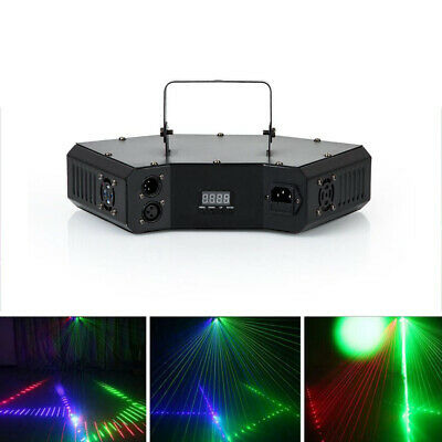 LED Light KTV Projector RGB Stage Lighting Laser Strobe Beam DMX Disco DJ Party