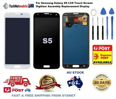 For Samsung Galaxy S5 G900 i9600 LCD Display Touch Screen Digitizer Assembly