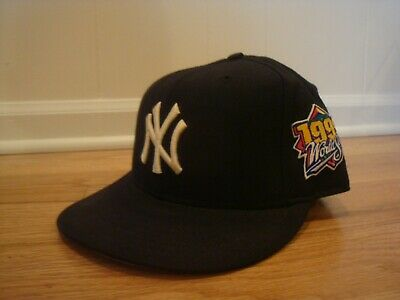 ae11124652af9e NEW YORK YANKEES 2000 World Series Patch Low Profile Fitted Hat Cap ...