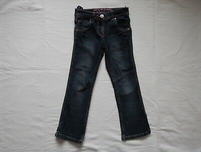 Bluezoo Girls Jeans Age 5 Cotton Adjustable Waist