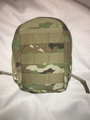 Genuine US Military Issue MOLLE II Leaders Pocket Heavy Duty MULTICAM Pouch/RARE