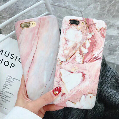 Marble Phone Case For iPhone 7 6 6S 8 Plus XS Max Soft TPU Silicone Back Cover