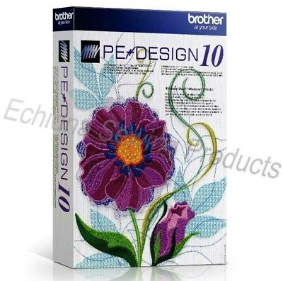 Brother PE Design 10 Embroidery Program Full Version - Download Only
