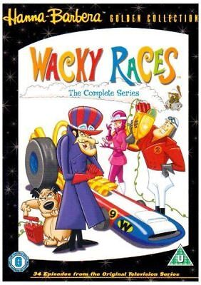 Wacky Races Hanna Barbera Volume 1, 2 & 3 Complete Collection DVD New In Stock