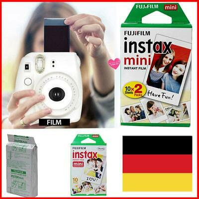 For Fujifilm Instax Mini 8 9 50 70 90 Camera Fuji Instant Color Film Photo Sheet