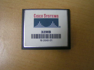 16-2648-01 CISCO Seller Refurbished 32MB COMPACT FLASH CARD