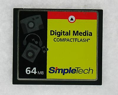Simpletech 90000-01060-102 64MB COMPACT FLASH
