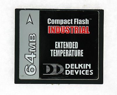 Delkin Devices 64MB Industrial Extended Temp CompactFlash CFX064E121-DAAA000