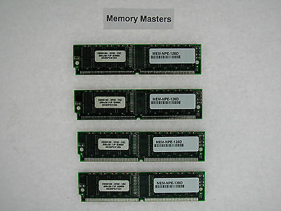 MEM-NPE-128D 128MB Approved (4x32MB) Cisco 7200 Series NPE