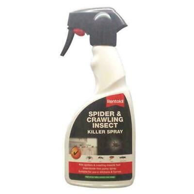 Rentokil Spider & Crawling Insect Killer Spray, Insecticide-Free, Home & Kitchen