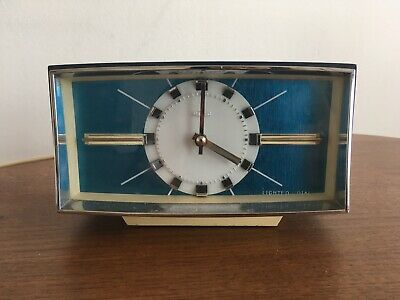 Vintage retro Table Clock with alarm. Excelent condition,works perfectly.Made UK