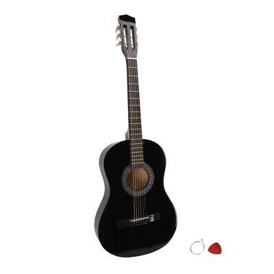 "Plywood 38"" Acoustic Classic Guitar For Beginners Student Adults 6 String US"