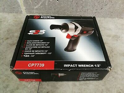 "CP Chicago Pneumatic 1/2"" Air Pneumatic Impact Wrench CP7739"