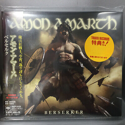 Japan Sticker + Digi-Sleeve Cd With Obi Sent From Berlin! Amon Amarth Berserker