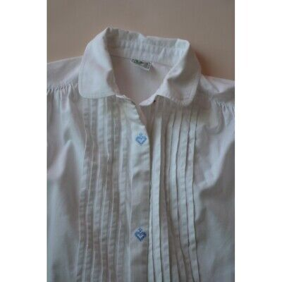 CAMICIA IN STILE TIROLESE tg. 46 Distler