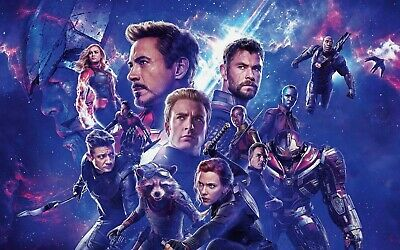 Avengers Endgame 66 Movie Poster Canvas Picture Art Print A0 A1 A2 A3 A4