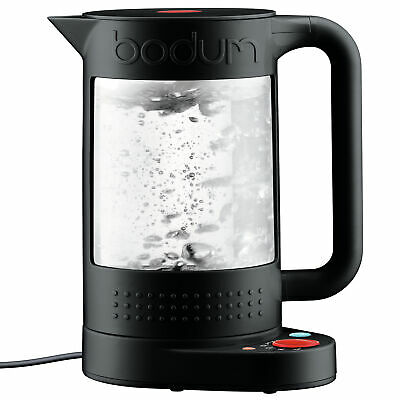 NEW Black Bistro 1.1L Double Wall Electric Water Kettle - Bodum,Small Appliances