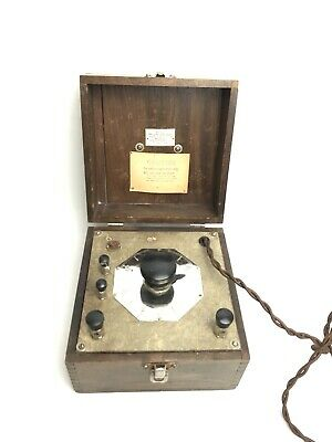 Antique Phillips-Drucker Manufacturers Quackery Device St. Louis, MO.