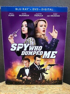 The Spy Who Dumped Me (Blu-ray + DVD, 2018, 2-Discs) Mila Kunis