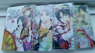 The Demon Prince Of Momochi House Manga Volume 6-9 (Like new)