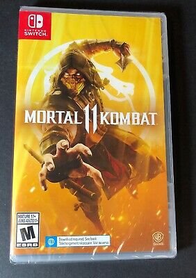 Mortal Kombat 11 (Nintendo Switch) NEW