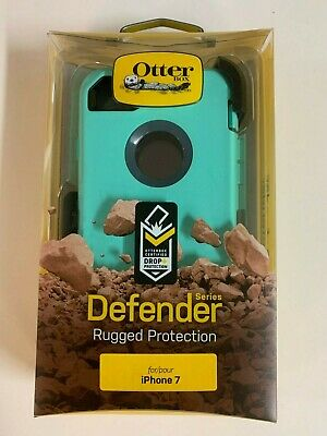 Otterbox Defender Series Case for iPhone 7 iPhone 8 w/ Holster Borealis Mint