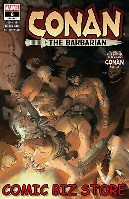 Conan The Barbarian #6 (2019) 1er Impression Esad Ribic Principale Couverture