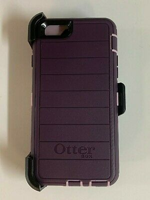 Otterbox Defender Pro Case for iPhone 6 iPhone 6s with Holster Purple Nebula