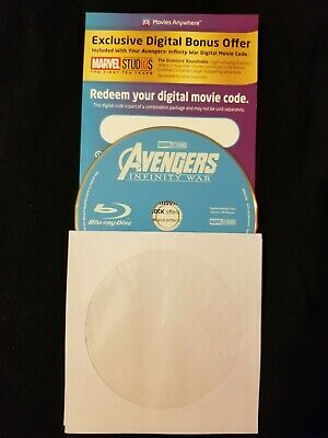 Avengers: Infinity War ( Blu-ray Disc ONLY, HD Digital Code 2018)