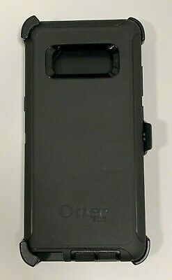OtterBox Defender Case With Belt Clip Holster for Samsung Galaxy Note 8 Black