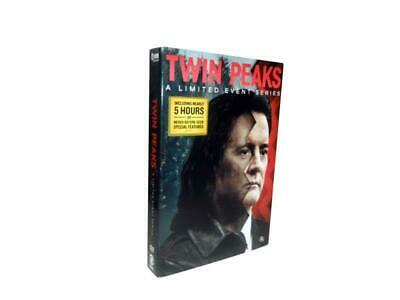 Twin Peaks: A Limited Event Series 8 DVD  Box Set 2017 New Free Shipping