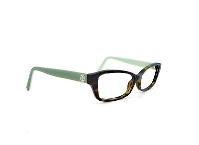 9f8296e0c24b Tory Burch TY2041 1286 Tortoise Green RX Eyeglasses Frames Only 53mm