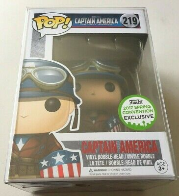 Funko Pop Exclusive ECCC MARVEL CAPTAIN AMERICA THE FIRST AVENGER Steve Rogers