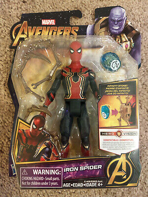 Marvel Avengers Infinity War Iron Spider with Infinity Stone - NIB