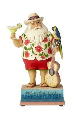 Jim Shore Margaritaville Santa with Guitar Musical #6001535 BRAND NEW Free Ship