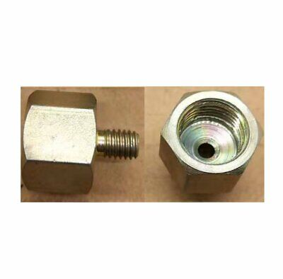 """Pipe to Metric Fitting 1/4"""" NPT Female to M6X1 or 1.0 Male"""