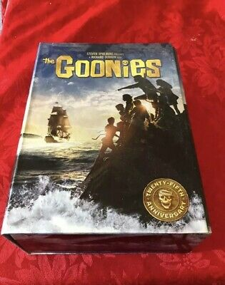 The Goonies (Blu-ray Disc, 2010, 25th Anniversary Collectors Edition With Board