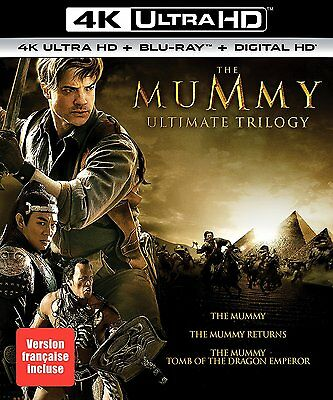 The Mummy Ultimate Trilogy (4K Ultra HD + Blu-ray + Digital HD) *BRAND NEW*