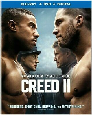 CREED II  BLU RAY disc + Artwork Case only / NO dvd, digital, slip cover