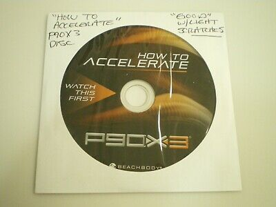P90X3: WATCH THIS first - How to Accelerate DVD - Tony