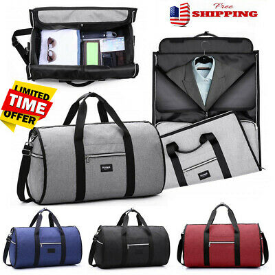 US Men Travel Garment Carry On Suit Business Luggage Sports Duffel Shoulder Bag