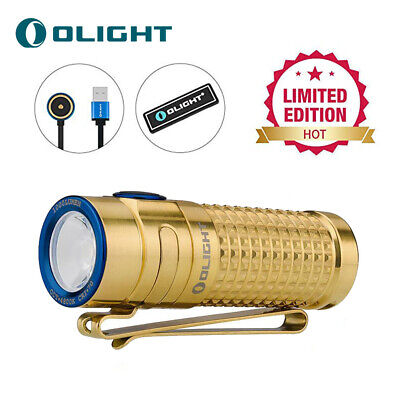 Olight S1R II Titanium Autumn 1000 Lumen Rechargeable Limited Edition Flashlight