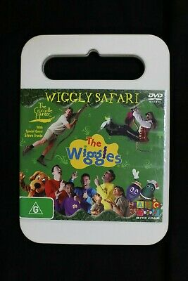THE WIGGLES WIGGLY Safari DVD Steve Irwin Australia Zoo (ABC