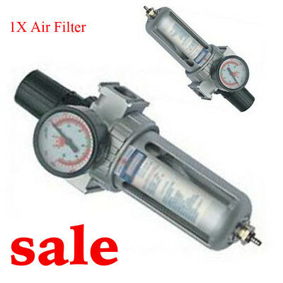 Air Filter Pressure Regulator Compressor Air Tools HVLP Spray Gun Oil Easy  Use