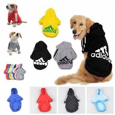 Winter Pet Dog Hoodies Puppy Jumpsuit Apparel Clothe Dog Coat Jacket Vest XS-7XL