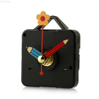 74F8 Silence Clock Movement Mechanism Repair Parts with Hook Pencil Hands DIY