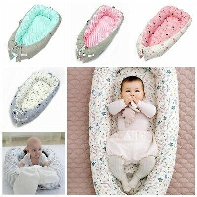Soft Baby Nest Cushion Newborn Infant Baby Sleeping Pod Bed Bassinet Cradles