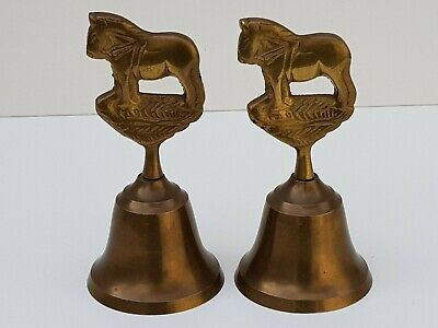 Pair of Vintage Islamic Persian Brass Dinner Table Bell - Made In Indian